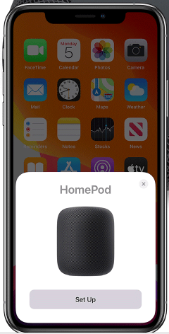 How to setup apple Home pod app_system setup