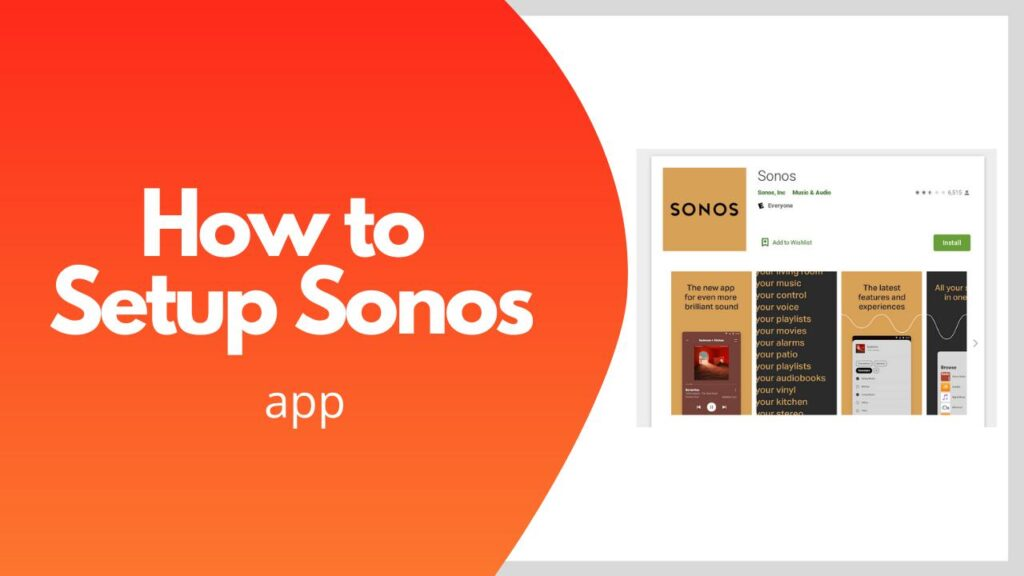How To Setup Sonos App